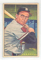 1952 Bowman Baseball 72 Earl Torgeson Boston Braves Excellent