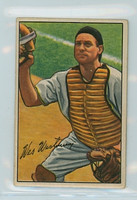 1952 Bowman Baseball 74 Wes Westrum New York Giants Good to Very Good