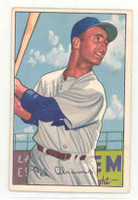 1952 Bowman Baseball 86 Cal Abrams Brooklyn Dodgers Excellent