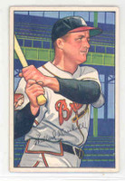 1952 Bowman Baseball 97 Willard Marshall Boston Braves Excellent