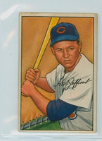 1952 Bowman Baseball 104 Hal Jeffcoat Chicago Cubs Good to Very Good