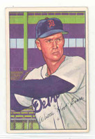 1952 Bowman Baseball 111 Hoot Evers Detroit Tigers Excellent