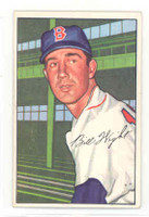 1952 Bowman Baseball 117 Bill Wight Boston Red Sox Excellent