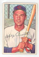 1952 Bowman Baseball 126 Phil Cavarretta Chicago Cubs Excellent