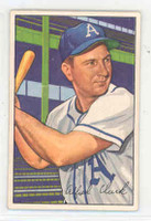 1952 Bowman Baseball 130 Allie Clark Philadelphia Athletics Excellent