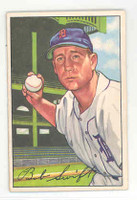 1952 Bowman Baseball 131 Bob Swift Detroit Tigers Excellent