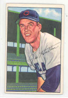 1952 Bowman Baseball 144 Joe Hatten Chicago Cubs Excellent