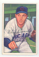 1952 Bowman Baseball 159 Dutch Leonard Chicago Cubs Excellent