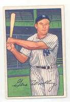 1952 Bowman Baseball 177 Gene Woodling New York Yankees Excellent