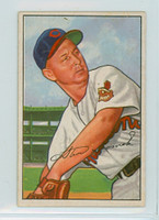 1952 Bowman Baseball 203 Steve Gromek Cleveland Indians Very Good to Excellent