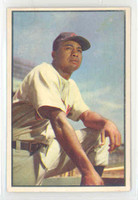 1953 Bowman Color Baseball 40 Larry Doby Cleveland Indians Very Good to Excellent