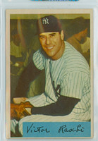 1954 Bowman Baseball 33 b Vic Raschi TRADE  New York Yankees Excellent
