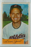 1954 Bowman Baseball 35 Eddie Joost QUIZ 8  Kansas City Athletics Excellent to Mint