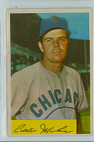 1954 Bowman Baseball 61 Eddie Miksis 962 FA  Chicago Cubs Excellent to Mint