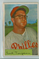 1954 Bowman Baseball 63 Earl Torgeson Philadelphia Phillies Excellent
