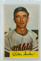 1954 Bowman Baseball 99 Pete Suder 985 FA  Kansas City Athletics Excellent to Mint