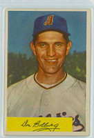 1954 Bowman Baseball 115 Don Bollweg Kansas City Athletics Very Good