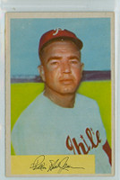 1954 Bowman Baseball 143 Willie Jones Philadelphia Phillies Excellent to Excellent Plus