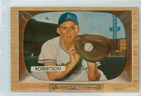 1955 Bowman Baseball 5 Jim Robertson Kansas City Athletics Near-Mint