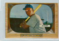 1955 Bowman Baseball 7 Gene Baker Chicago Cubs Excellent