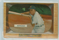 1955 Bowman Baseball 25 Minnie Minoso Chicago White Sox Excellent to Mint