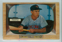 1955 Bowman Baseball 31 Johnny Temple Cincinnati Reds Excellent to Mint