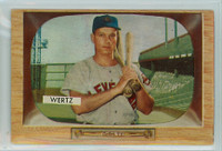 1955 Bowman Baseball 40 Vic Wertz Excellent to Mint