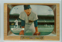 1955 Bowman Baseball 45 Tom Umphlett Washington Senators Near-Mint