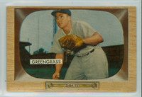 1955 Bowman Baseball 49 Jim Greengrass Cincinnati Reds Near-Mint