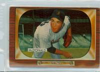 1955 Bowman Baseball 77 Jim McDonald Baltimore Orioles Very Good to Excellent