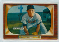 1955 Bowman Baseball 79 Willie Miranda Baltimore Orioles Very Good