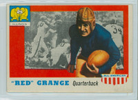1955 Topps AA Football 27 Red Grange  Illinois Excellent