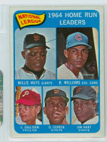 1965 OPC Baseball 4 NL HR Leaders Very Good to Excellent