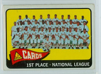 1965 OPC Baseball 57 Cardinals Team Very Good