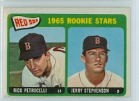1965 OPC Baseball 74 Red Sox Rookies Very Good
