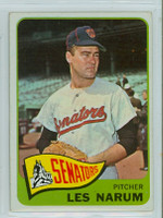 1965 OPC Baseball 86 Les Narum Washington Senators Very Good