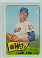 1965 OPC Baseball 93 Jack Fisher New York Mets Very Good