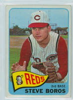 1965 OPC Baseball 102 Steve Boros Cincinnati Reds Very Good