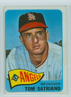 1965 OPC Baseball 124 Tom Satriano California Angels Very Good