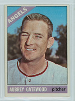 1966 OPC Baseball 42 Aubrey Gatewood California Angels Very Good to Excellent