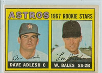 1967 OPC Baseball 51 Astros Rookies Very Good to Excellent