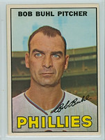 1967 OPC Baseball 68 Bob Buhl Philadelphia Phillies Very Good to Excellent
