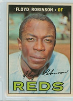 1967 OPC Baseball 120 Floyd Robinson Cincinnati Reds Very Good to Excellent