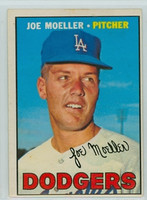 1967 OPC Baseball 149 Joe Moeller Los Angeles Dodgers Very Good to Excellent