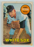1969 OPC Baseball 34 Gary Peters Chicago White Sox Very Good to Excellent