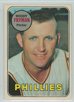 1969 OPC Baseball 51 Woody Fryman Philadelphia Phillies Excellent