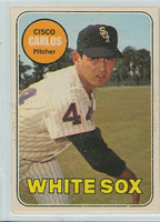 1969 OPC Baseball 54 Cisco Carlos Chicago White Sox Excellent