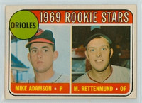 1969 OPC Baseball 66 Orioles Rookies Excellent