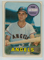 1969 OPC Baseball 78 Tom Satriano California Angels Very Good to Excellent