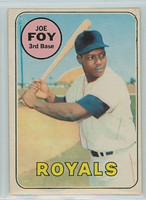 1969 OPC Baseball 93 Joe Foy Kansas City Royals Excellent